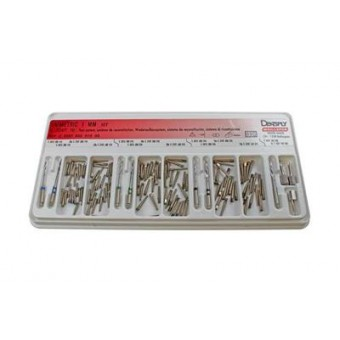 Титаниеви щифтове UNIMETRIC 0.8 –145бр. + Калибратор